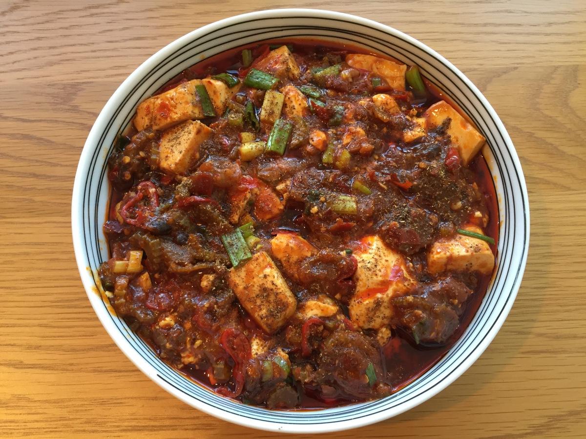 Mapo Tofu (麻婆豆腐 - Má pó dòu fu)